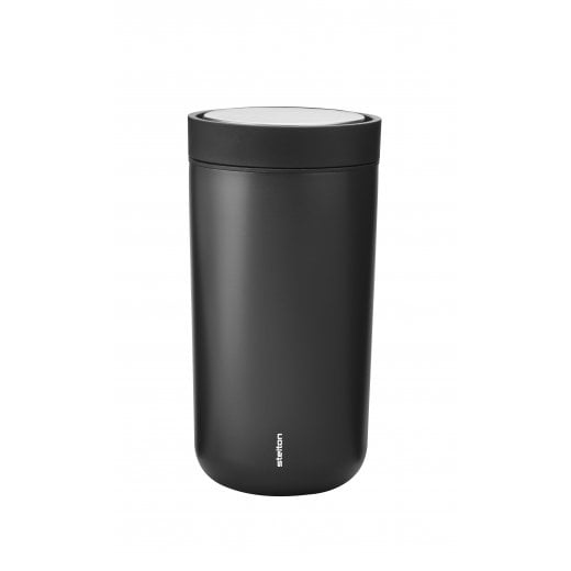 Stelton To Go Click Cup, 0.2 L - Metallic Black