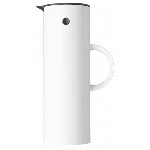 Stelton Vacuum Jug, 1.0 L - White