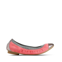Stylesnob Ila Ballerina Shoes -Dusty Coral