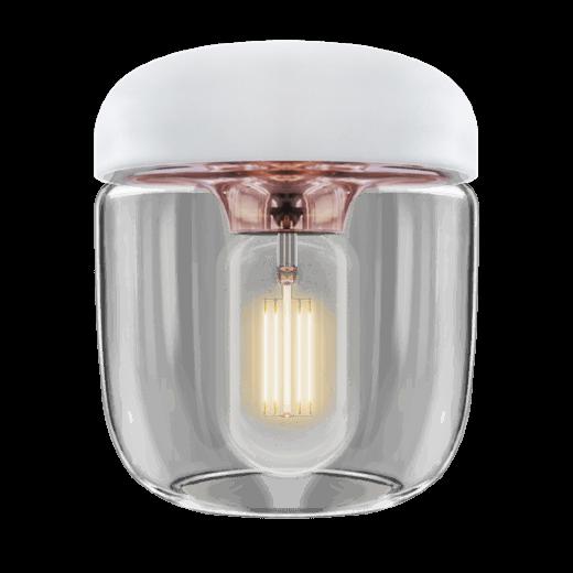 Umage Lighting Acorn White Polished Copper Lamp shade