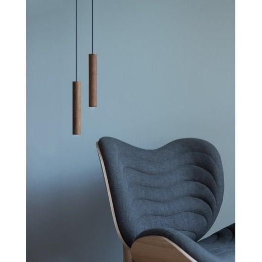 Umage Lighting Chimes Pendant Lamp - Dark Oak H22CM