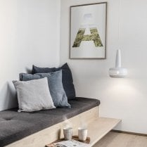 Umage Lighting Clava Matte White Lamp