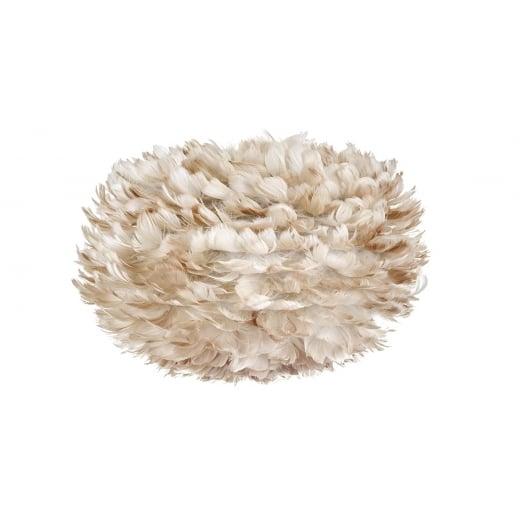 Umage Lighting Eos Medium Light Brown Feather Lampshade
