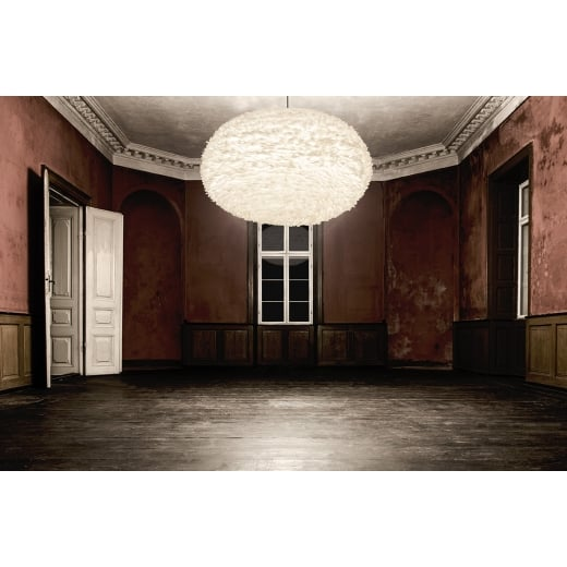 Umage Lighting EOS XXL White Feather Lampshade - D110cm