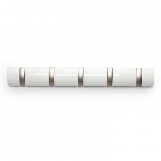 Umbra Flip 5 Hook - White
