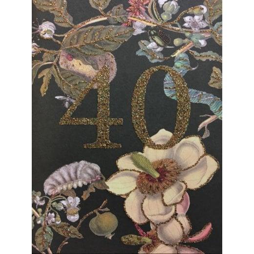 Vanilla Fly Birthday Card 40 Years Old
