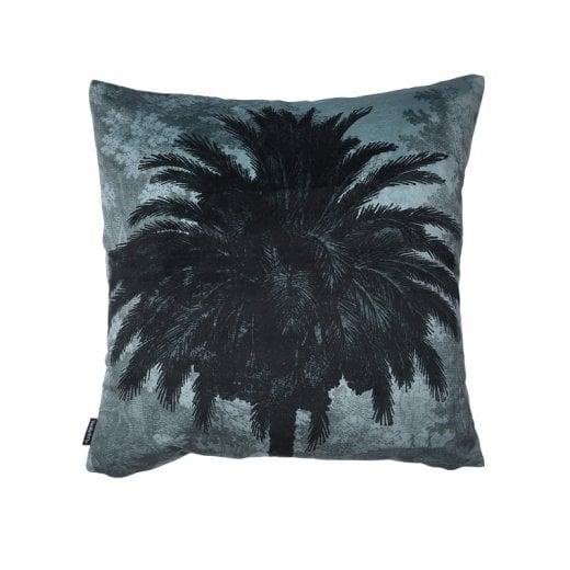 Vanilla Fly Blue Palm Tree Cushion