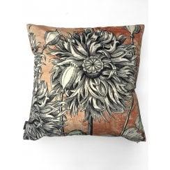 Vanilla Fly Coral Poppy Cushion
