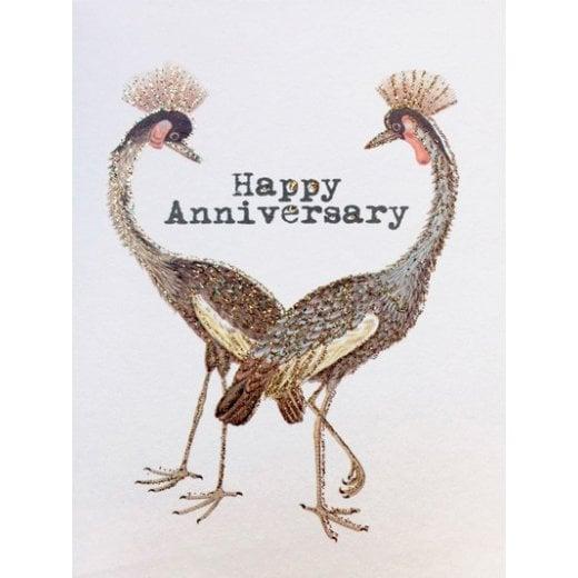 Vanilla Fly Happy Anniversary Card
