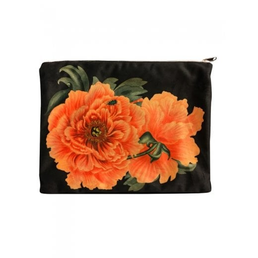 Vanilla Fly Make up Bag with Flower Print