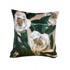 Vanilla Fly Treepeony Cushion 50x50cm (Including Deluxe Filling)