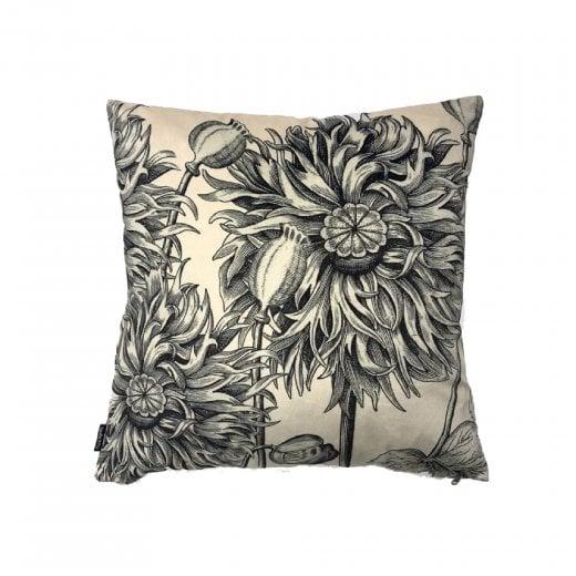 Vanilla Fly White Poppy Cushion