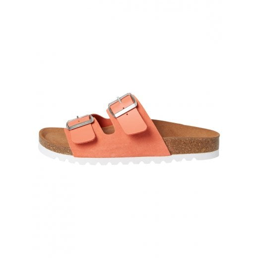 Vero Moda Leather Sandals with Buckle - Emberglow