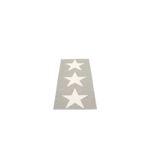 Pappelina VIGGO STAR METALLIC SHINE Pappelina Mat STONE/VANILLA 70X150CM