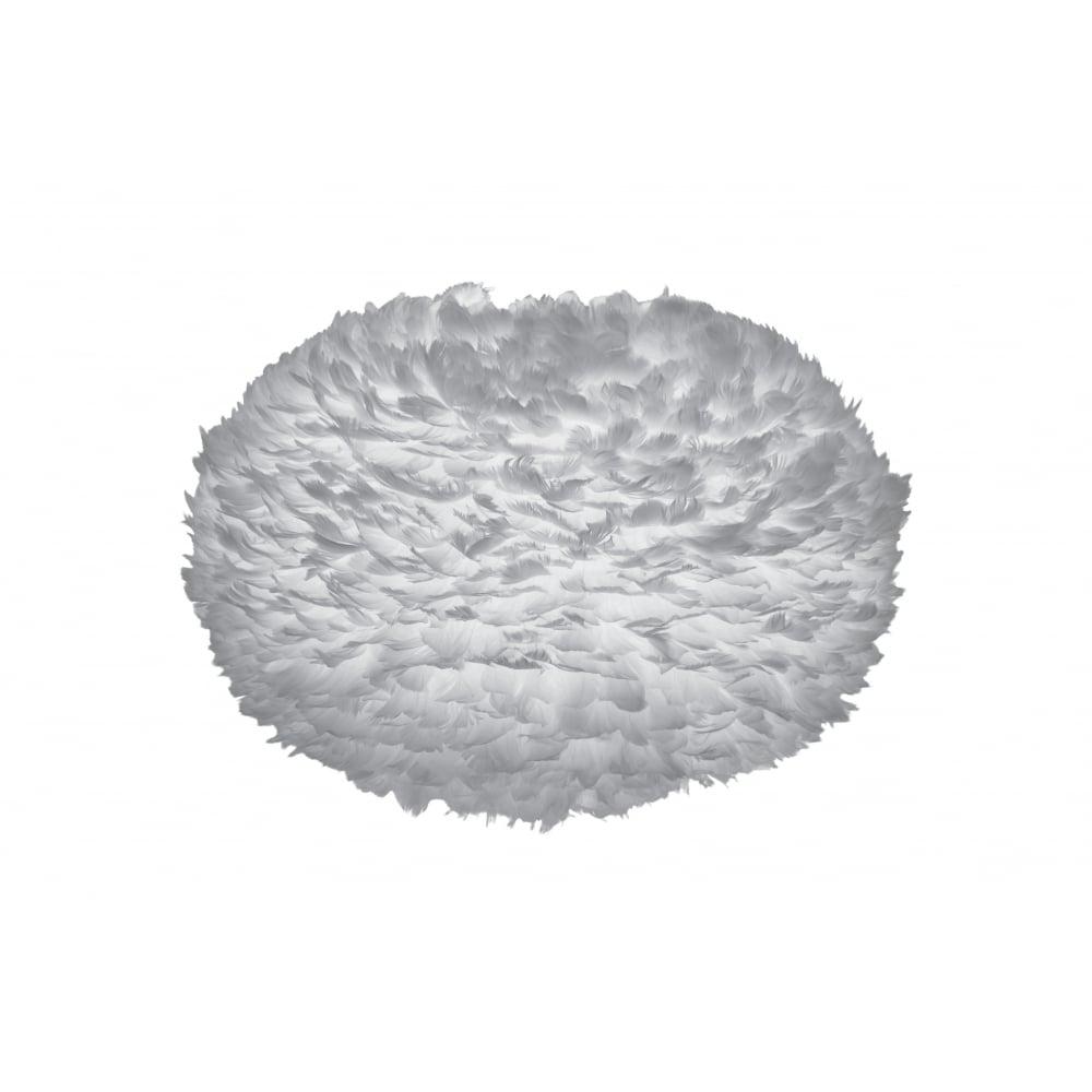 vita copenhagen eos ex large light grey feather lampshade. Black Bedroom Furniture Sets. Home Design Ideas