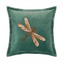Voyage Maison Aria Teal Dragonfly Cushion