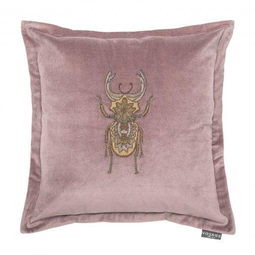 Voyage Maison Bellatrix Blush Pink Beetle Cushion