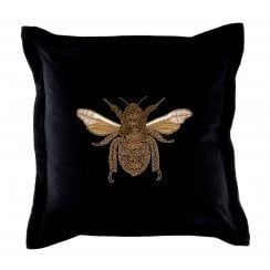Voyage Maison Layla Black Bee Cushion