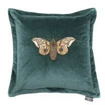 Voyage Maison Luna Teal Butterfly Cushion