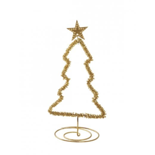 Walther and Co Gold Stand Alone Christmas Tree