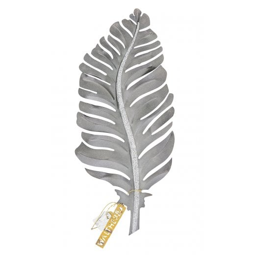 Walther and Co Silver Feather Hanging Decoration