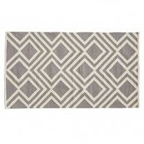Weaver Green Iris Rug Small - Monsoon/Smoke