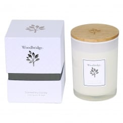 Woodbridge Medium Lemon Grass & Sage Soy Candle