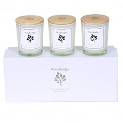 Woodbridge Set Of 3 Black Fig & Cassis Soy Candles