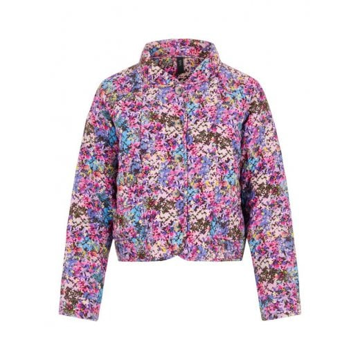YAS Yaselectra Quiltet Jacket - Small Flowers