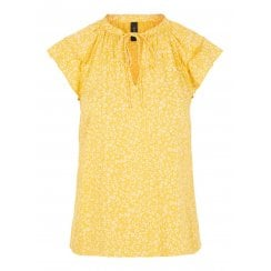 Yasjanice Top - Yellow