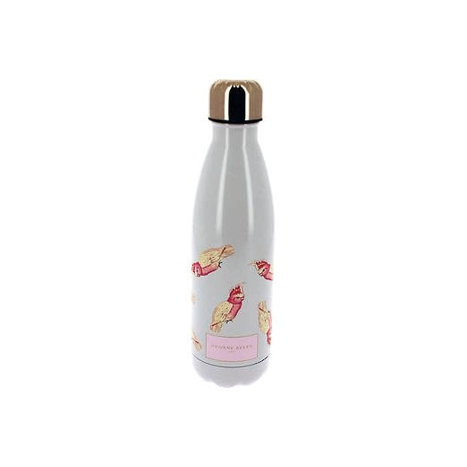 Yvonne Ellen Water Bottle with Parrot Motives